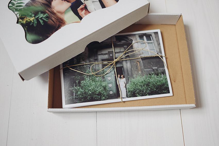 piękne pudełko na zdjęcia