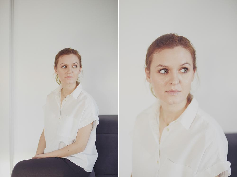 architekt minimalistyczny portret