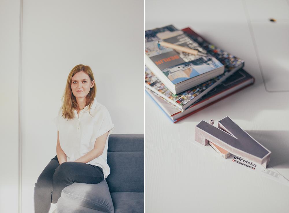 architekt w studio portret