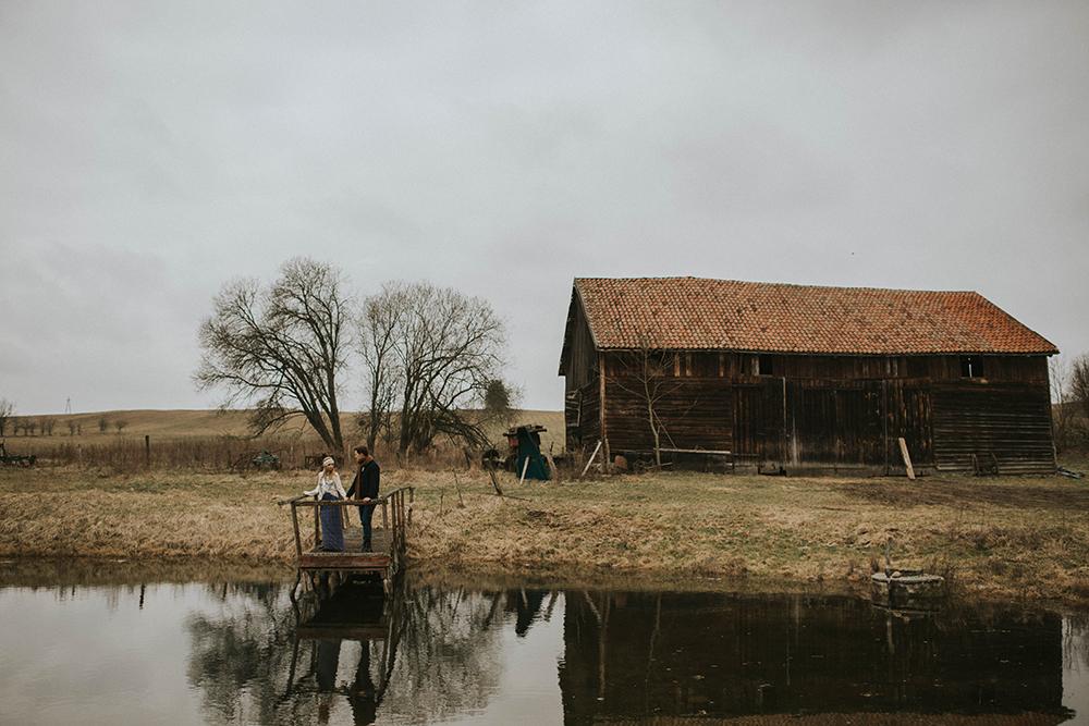 warmia stodoła jezioro