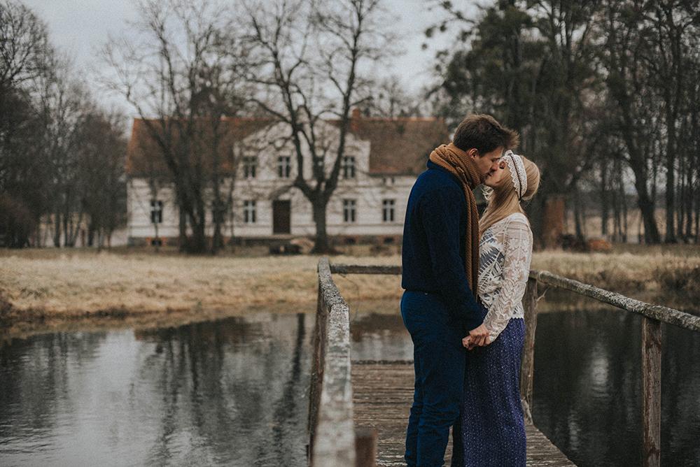 jezioro para pocałunek