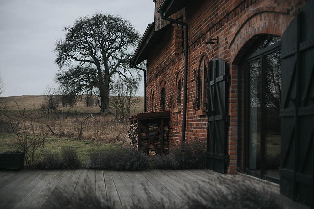 dom drzewo warmia