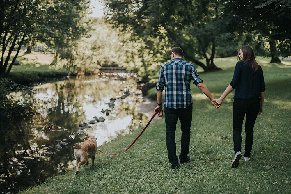 sołacz spacer poznań pies