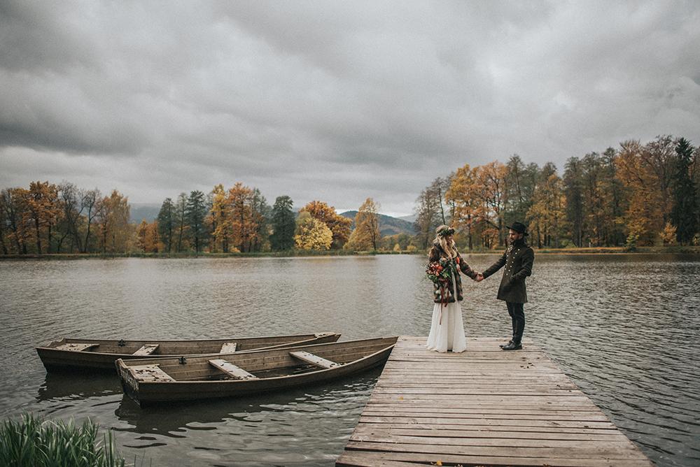 sesja ślubna w karkonoszach bukowiec jesień plener