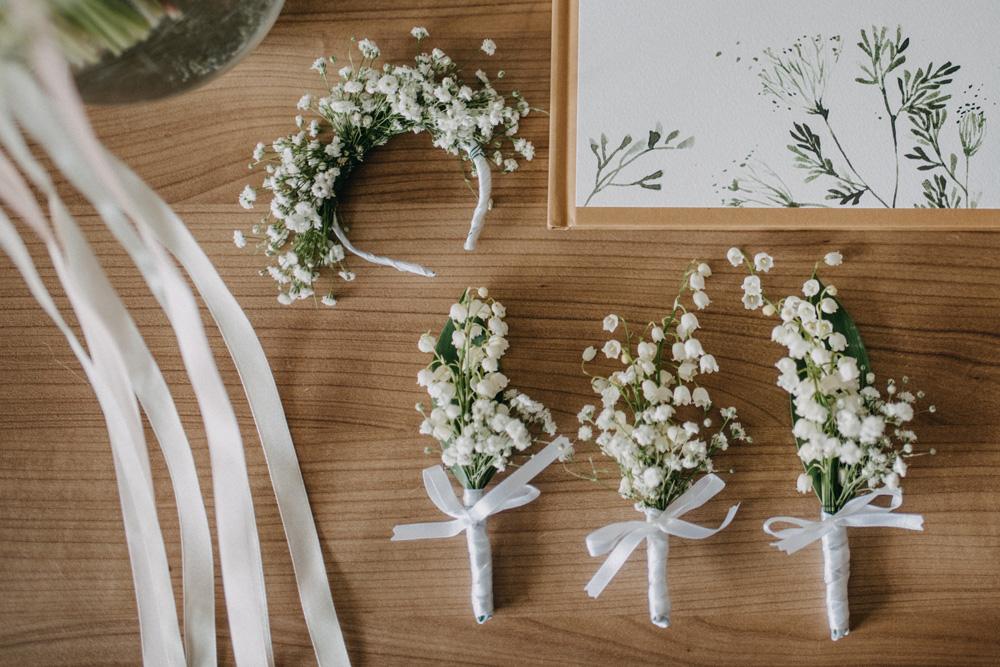 loveprints zaproszenia konwalie kwiaty ślub