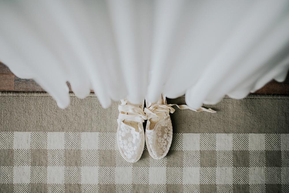 płaskie buty rustykalny ślub subtelne delikatne
