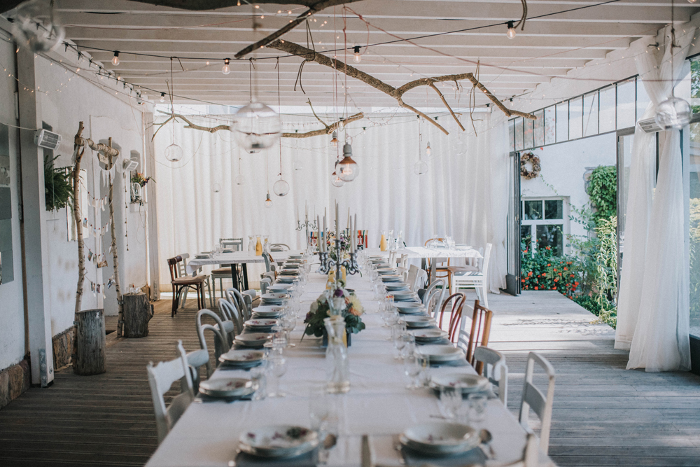 polna zdrój wedding wesele ślub sala stół
