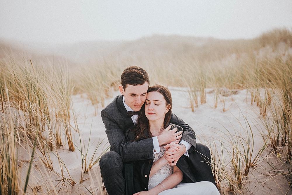 sand dunes wedding poland