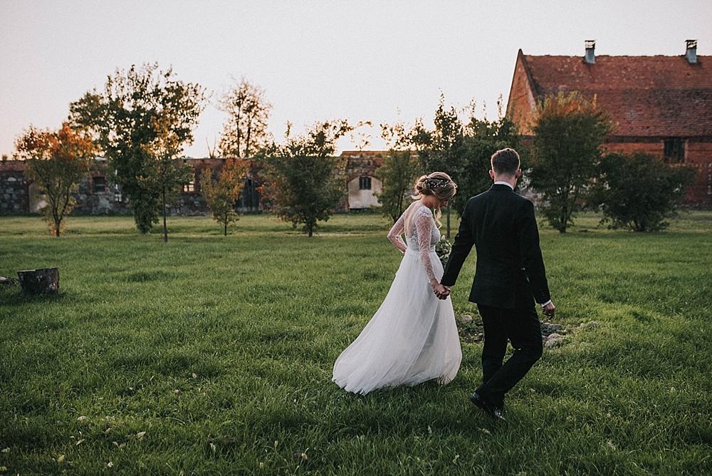 jesienny ślub w folwarku wąsowo