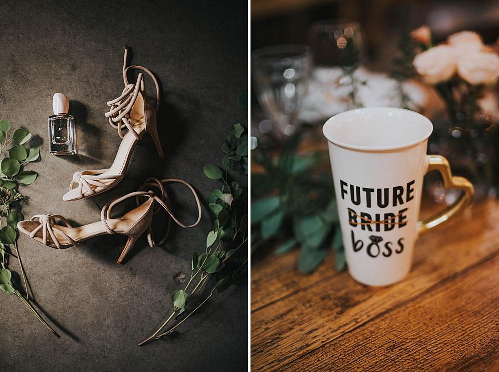 folwark wąsowo ślub buty panna młoda kubek future bride