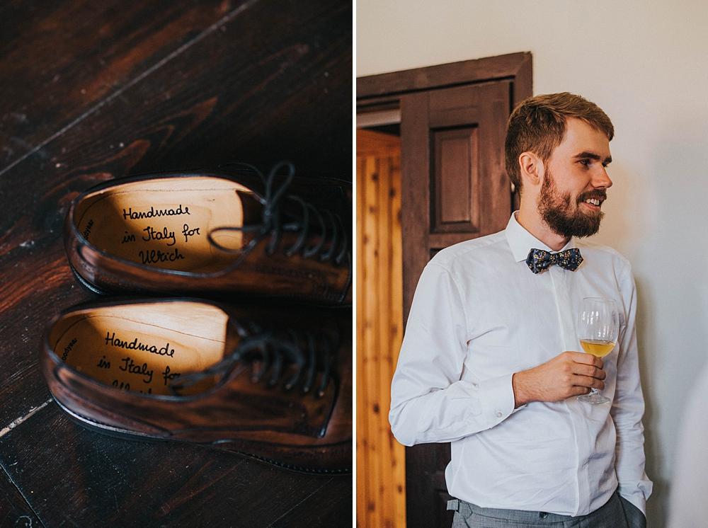 ślubne męskie buty handmade pan młody