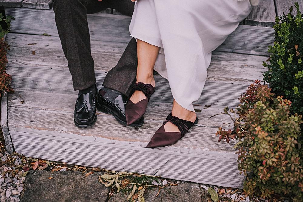 panna młoda buty zara jesień