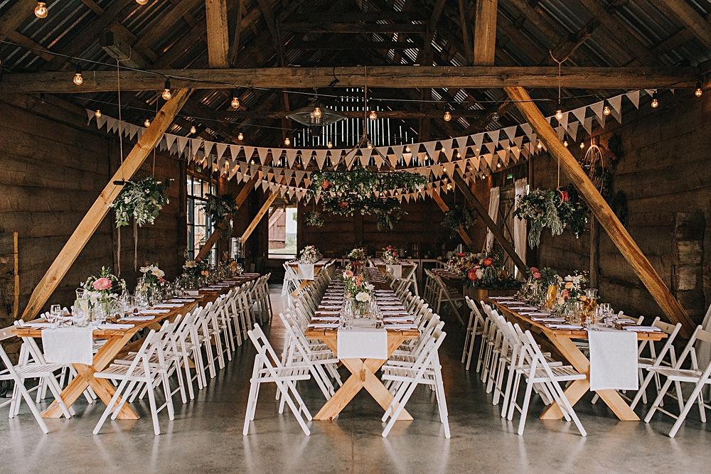 folwark ruchenka nowoczesna stodoła rustykalne wesele