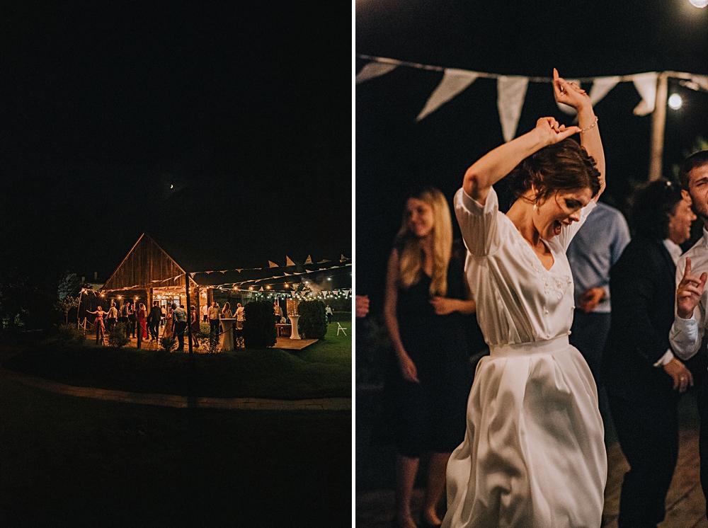 wesele w stodole tańce w ogrodzie panna młoda