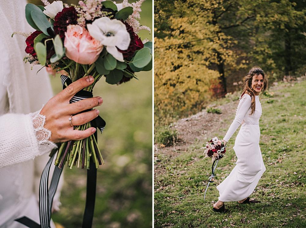 sabada dekoruje bukiet ślubny polna zdrój