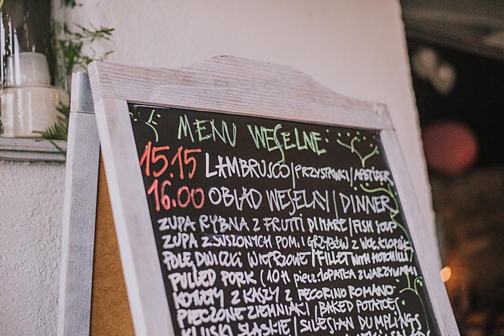 polna zdrój menu weselne