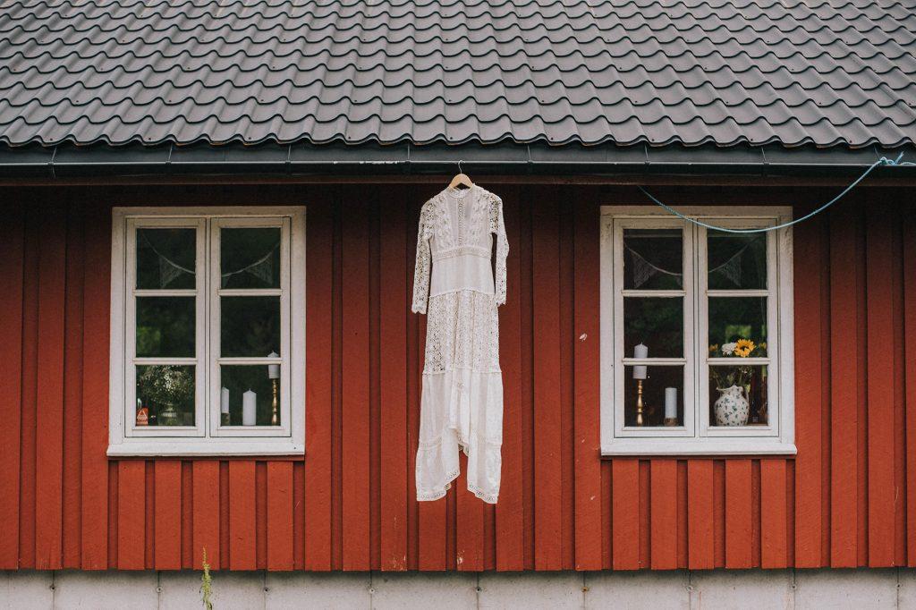 ślub w norwegii suknia kristiansand