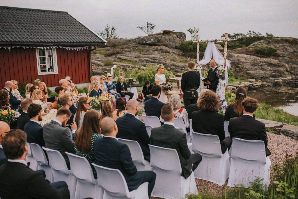 ślub w norwegii na wyspie plenerowy kristiansand