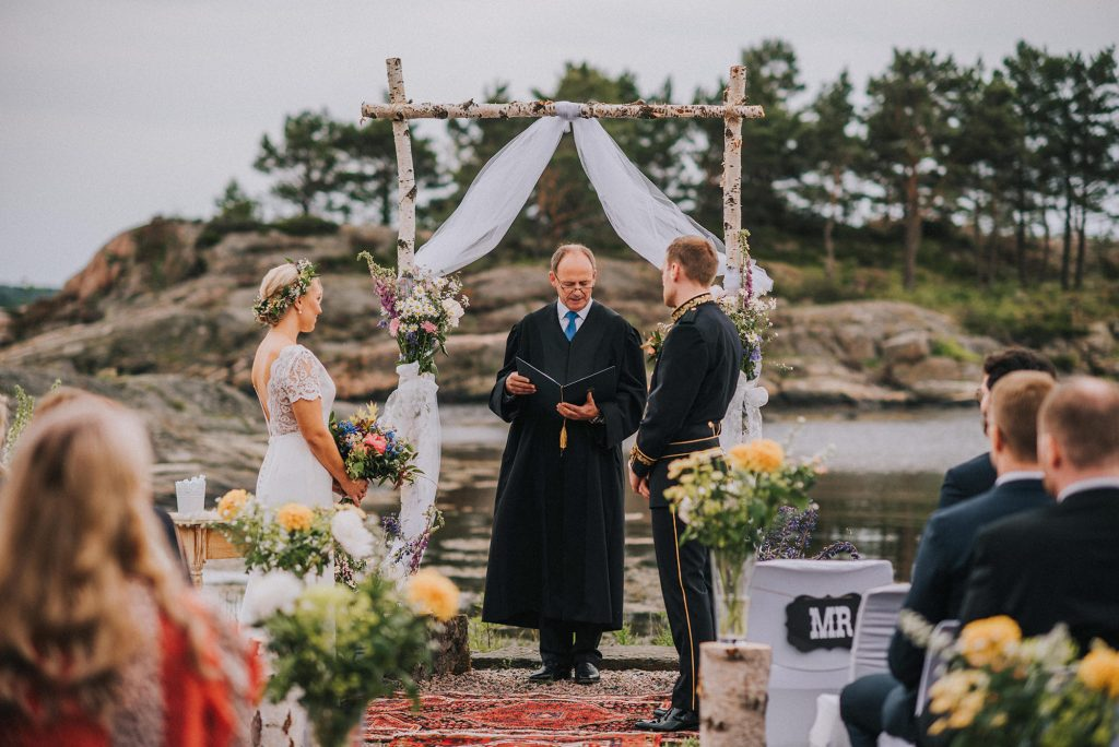kristiansand norway wedding venue island bryllup