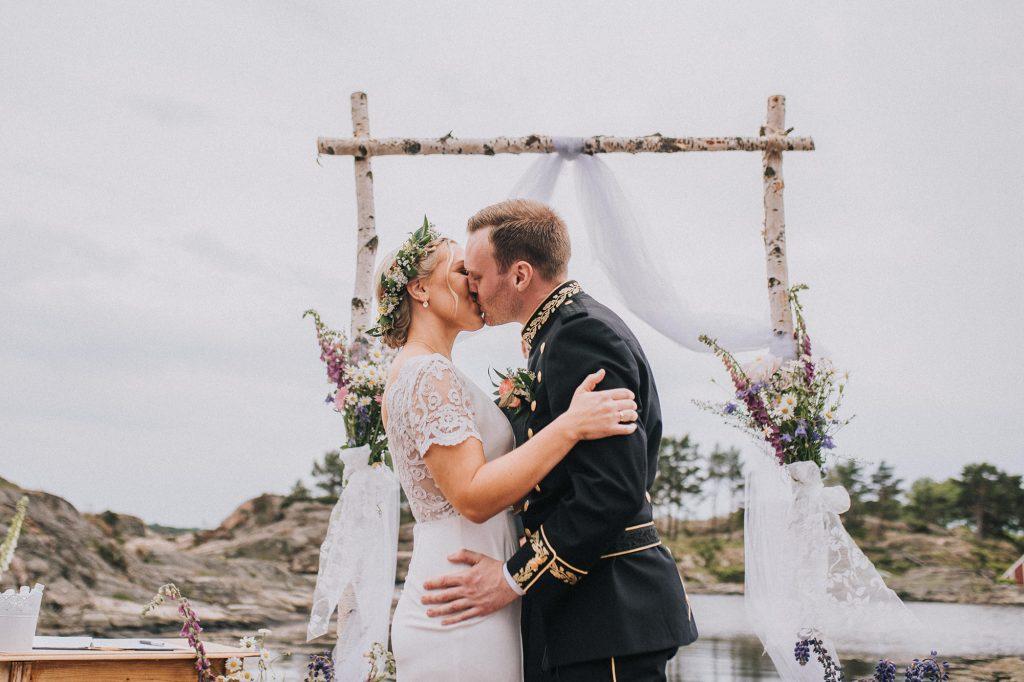 kristiansand norway wedding venue island sea bryllup