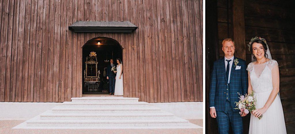 drewniany kościól gogolewo ceglarnia ślub