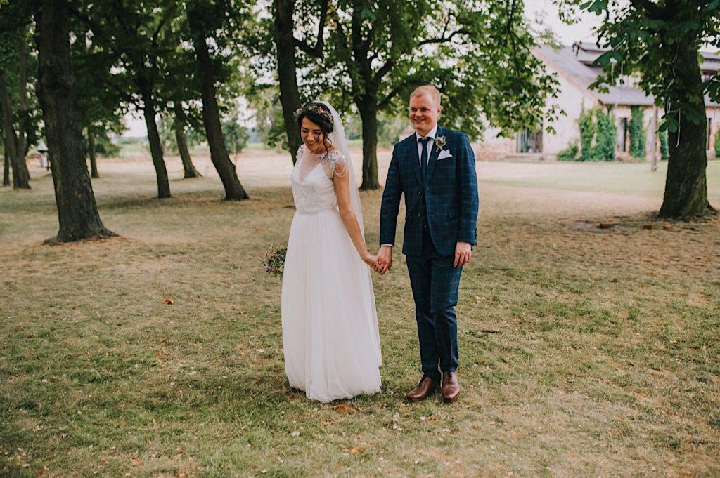 ceglarnia plener w dniu ślubu