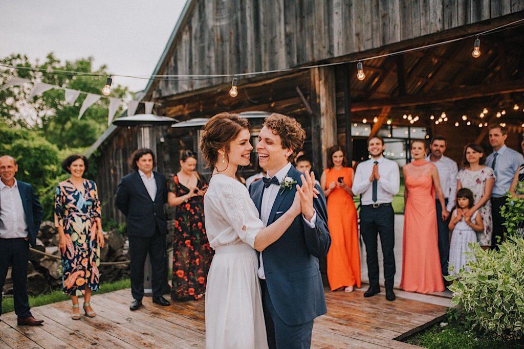 ślub bez stresu pierwszy taniec folwark ruchenka
