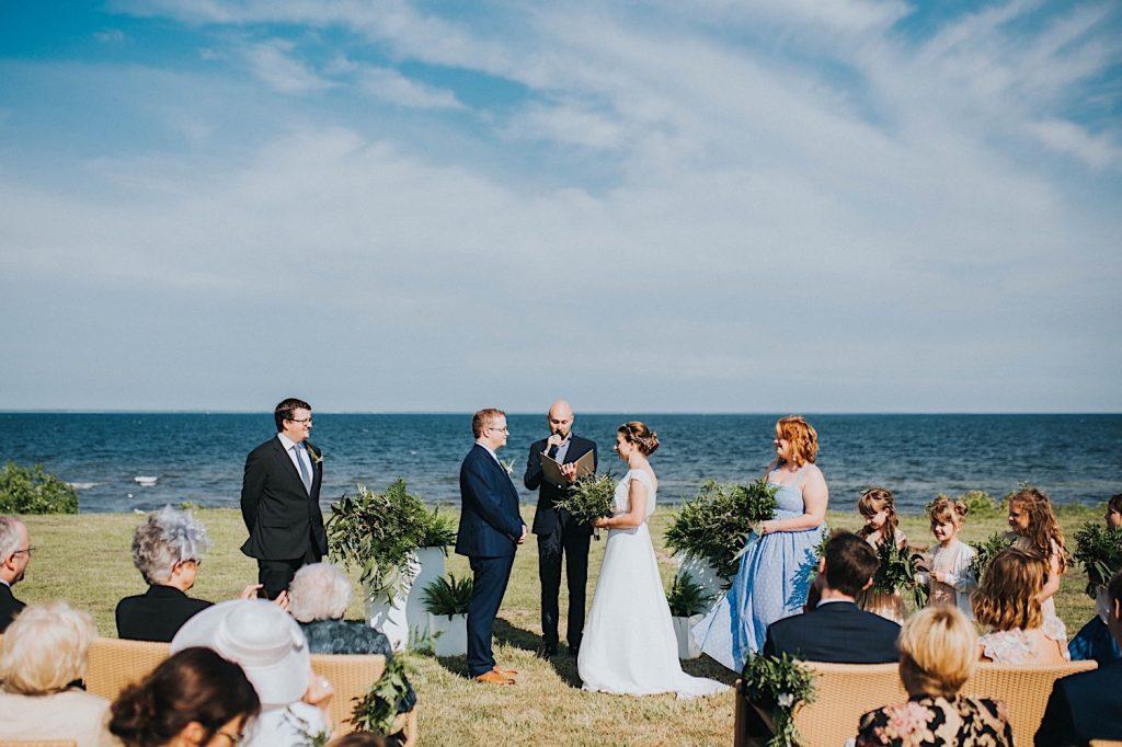 ślub humanistyczny ceremonia nad morzem cegielnia rzucewo