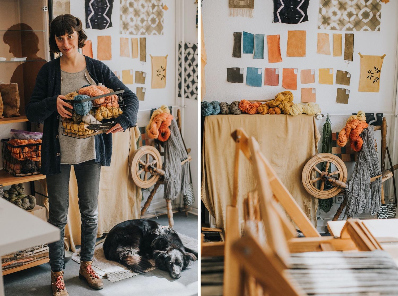 berlin textile artist kaliko workshop
