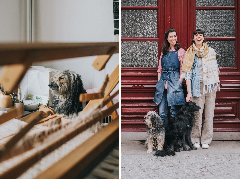 berlin makers dog portrait branding photography